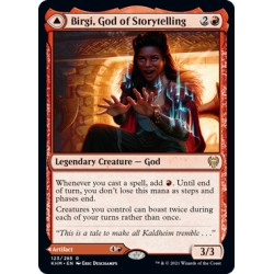 Birgi, God of Storytelling // Harnfel, Horn of Bounty KHM NM