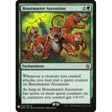 Beastmaster Ascension CMA (Mystery) NM