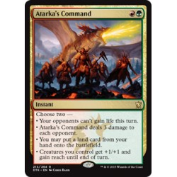 Atarka's Command DTK NM