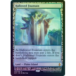 Hallowed Fountain FOIL Expedition NM