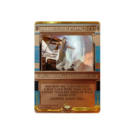 Force of Will FOIL MPS_AKH NM