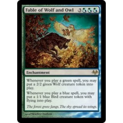 Fable of Wolf and Owl EVE NM