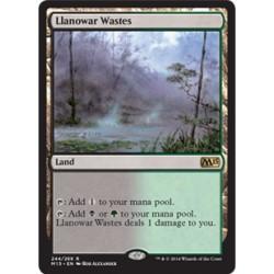 Llanowar Wastes M15 NM