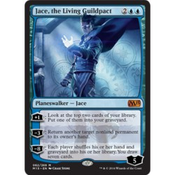 Jace, the Living Guildpact M15 NM