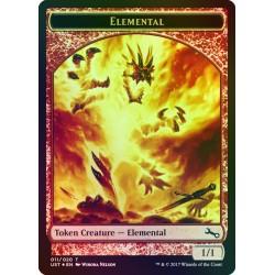 Elemental Token FOIL UST NM