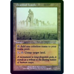Deserted Temple FOIL ODY NM