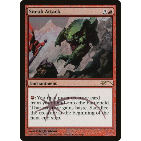 Sneak Attack FOIL JUDGE PROMO NM