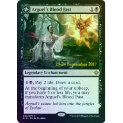 Arguel's Blood Fast PRE-RELEASE FOIL XLN SP