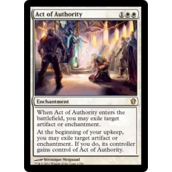 Act of Authority C13 NM