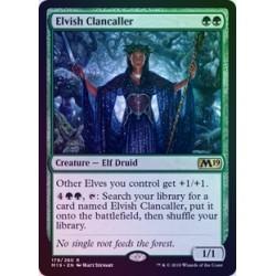 Elvish Clancaller FOIL M19 NM