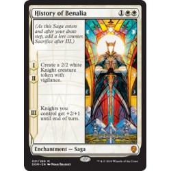 History of Benalia DOM HP+