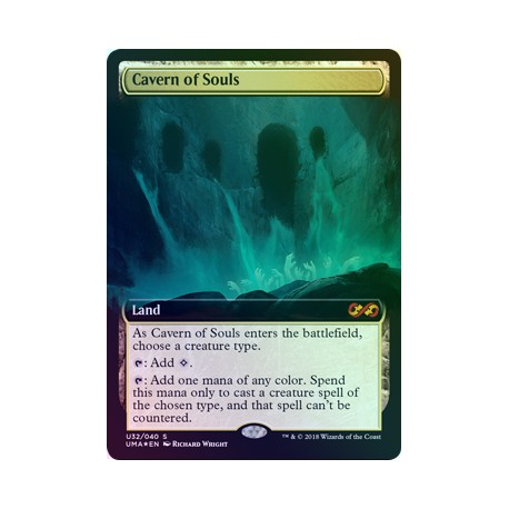 Cavern of Souls FOIL UMA TOPPER NM