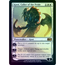 Ajani, Caller of the Pride FOIL M14 SP