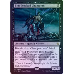 Bloodsoaked Champion FOIL KTK NM