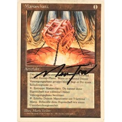 Mana Vault GERMAN 4ED SP SIGNED