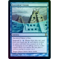 Ancestral Vision FOIL TSP NM SIGNED