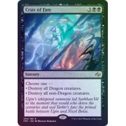 Crux of Fate FOIL FRF NM