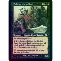 Balthor the Defiled FOIL JUD NM