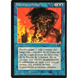 Force of Will SPANISH ALL NM-