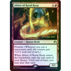 Abbot of Keral Keep PRE-RELEASE FOIL ORI NM