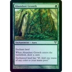 Abundant Growth FOIL AVR NM