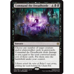 Command the Dreadhorde WAR NM