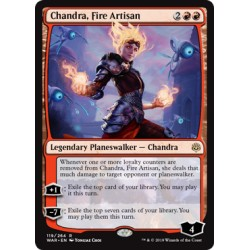 Chandra, Fire Artisan WAR NM