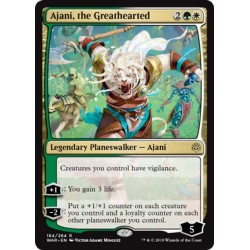 Ajani, the Greathearted WAR NM