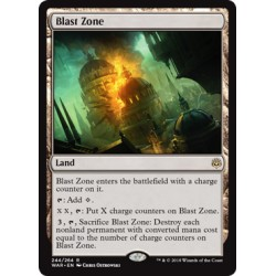 Blast Zone WAR NM