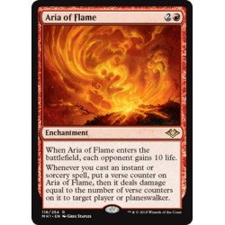 Aria of Flame MH1 NM