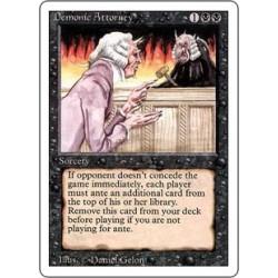Demonic Attorney 3ED SP