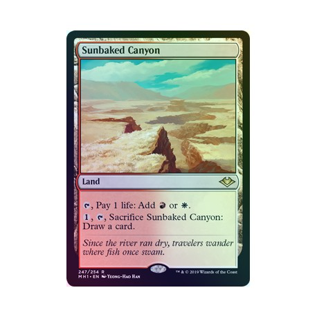 Sunbaked Canyon FOIL MH1 NM