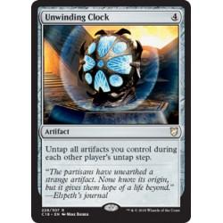 Unwinding Clock C18 NM