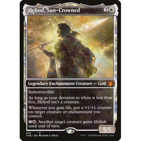 Heliod, Sun-Crowned (Showcase) THB NM