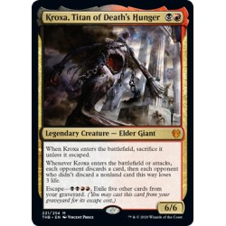 Kroxa, Titan of Death's Hunger THB NM