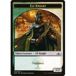 Elf Knight Token GRN NM