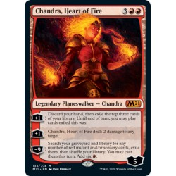 Chandra, Heart of Fire M21 NM