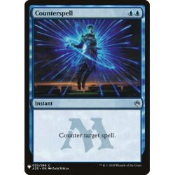 Counterspell A25 (Mystery) NM