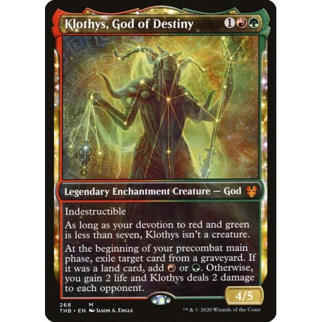 Klothys, God of Destiny (Showcase) THB NM