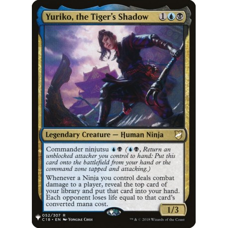 Yuriko, the Tiger's Shadow C18 (Mystery) NM