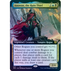 Anowon, the Ruin Thief (Extended) FOIL ZNC NM