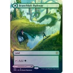 Branchloft Pathway // Boulderloft Pathway (Borderless) FOIL ZNR NM