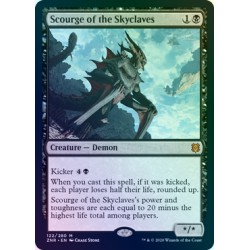 Scourge of the Skyclaves FOIL ZNR NM
