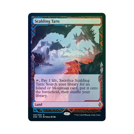 Scalding Tarn FOIL ZNE NM