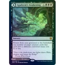Agadeem's Awakening // Agadeem, the Undercrypt FOIL ZNR NM