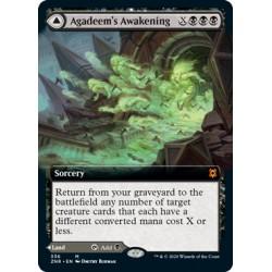 Agadeem's Awakening // Agadeem, the Undercrypt (Extended) ZNR NM