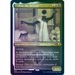 Tymna the Weaver ETCHED FOIL CMR NM