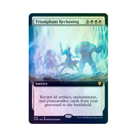 Triumphant Reckoning (Extended) FOIL CMR NM