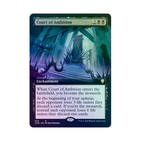Court of Ambition (Extended) FOIL CMR NM