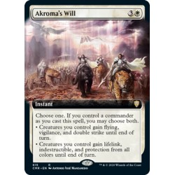 Akroma's Will (Extended) CMR NM